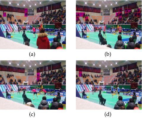 Badminton dataset