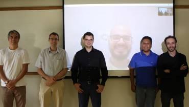 Sense researcher Raphael Prates defends his Ph.D. thesis on person re-identification
