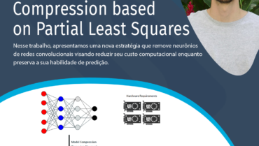 Deep Network Compression based on Partial Least Squares